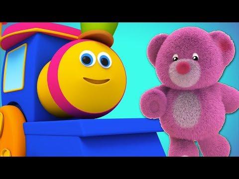 teddy bear teddy bear turn around | nursery rhyme | childrens rhyme