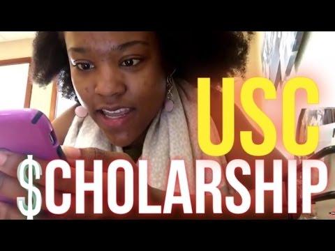 USC SCHOLARSHIP DECISION-University of Southern California