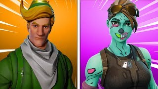 The LAST *RARE* SKINS - Fortnite Battle Royale