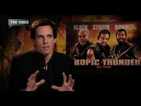 Ben Stiller Interview (Tropic Thunder)