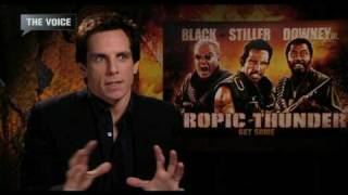 Ben Stiller Interview (Tropic Thunder)