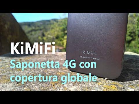 Recensione KiMiFi K5, hotspot 4G con copertura globale