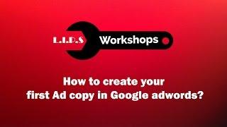 Google AdWords'te Bir Reklam kopyasını Oluşturma.