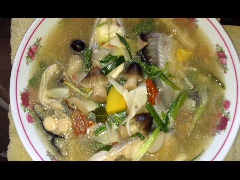 How to make khang pa swai steak fish soup (LAO FOOD) Home Made By Kaysone