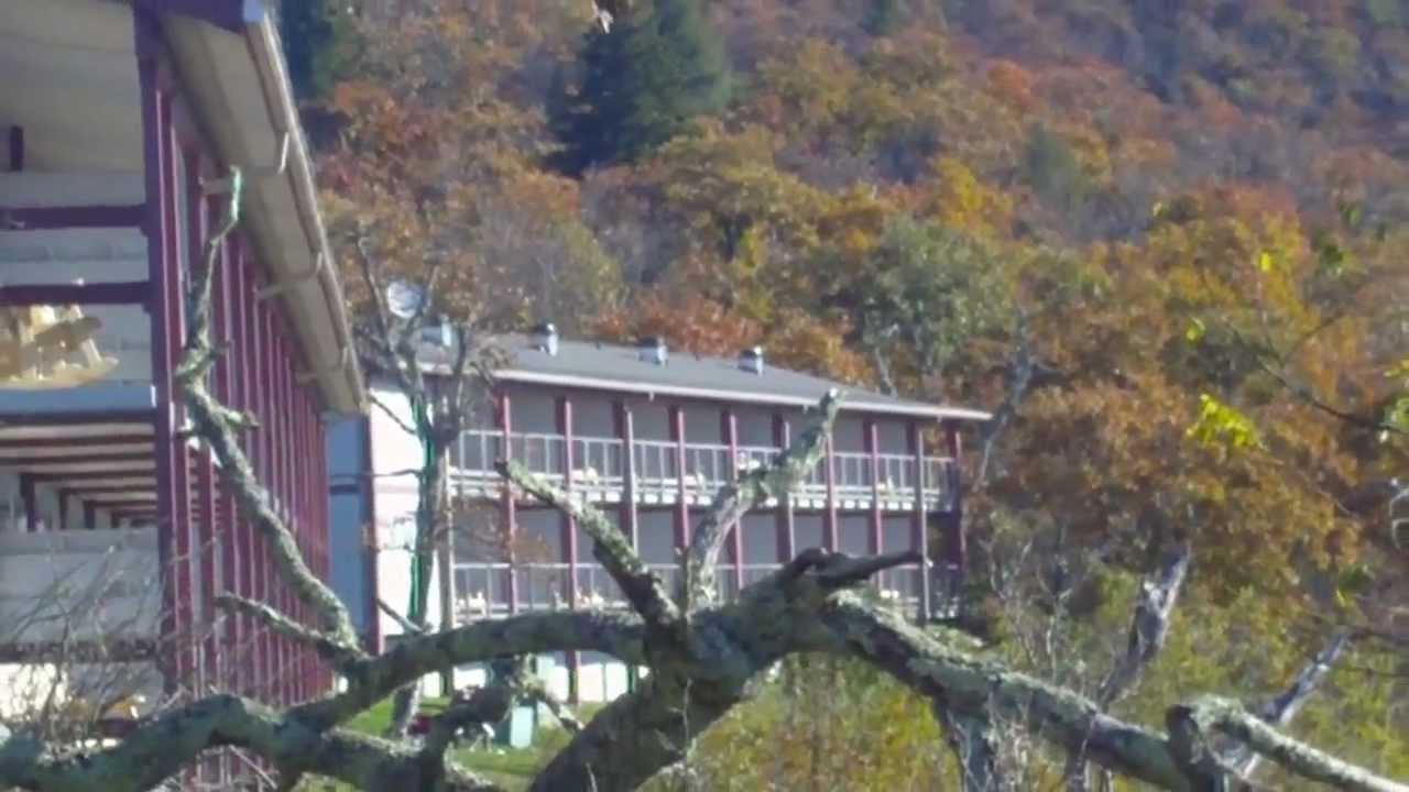 Pisgah Inn On The Blue Ridge Parkway Youtube