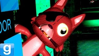 CUTEST ANIMATRONIC EVER! Gmod BABY FOXY Five Nights At Freddy