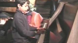 Thibaut Baron plays the Ballad of Bonnie and Clyde (G. Fame)