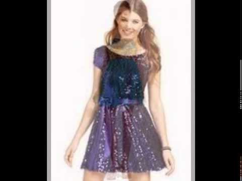 866e9dc273e3cf Cocktail Dresses Juniors - YouTube