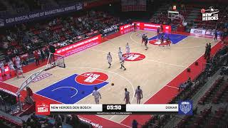 New Heroes Basketball vs. Donar Groningen