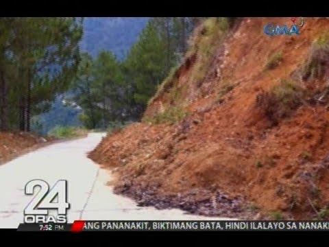 24 Oras: Malakas na ulan, nagdulot ng rock at landslide