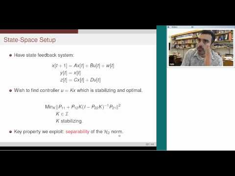 CESG Fishbowl Seminar: An Optimal Architecture for Decentralized Control Over Posets