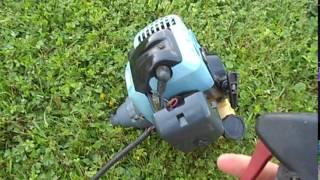 Strunová sekačka - motor