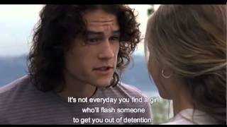 10 Things that I hate about you Kiss scene