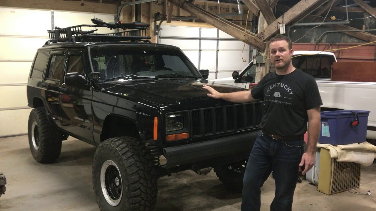 Family Overland Xj Project Part 1 E40 Youtube