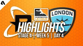 Philadelphia Fusion vs London Spitfire | Overwatch League Highlights OWL Stage 4 Week 5 Day 4