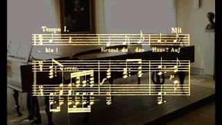 """Mignon (""""Kennst du das Land?""""), Lied para voz y piano, en La mayor, Op. 75/1. Ludwig van Beethoven"""