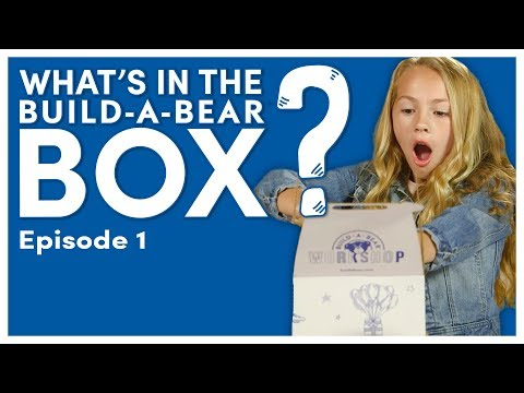 What's In The Build-A-Bear Box?! Episode 1