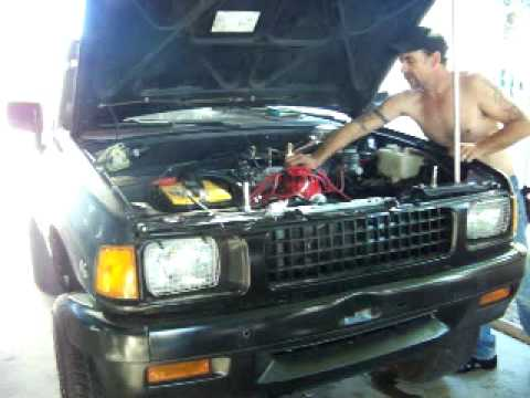 1989 Isuzu Amigo V8 Swap First Time Start Youtube