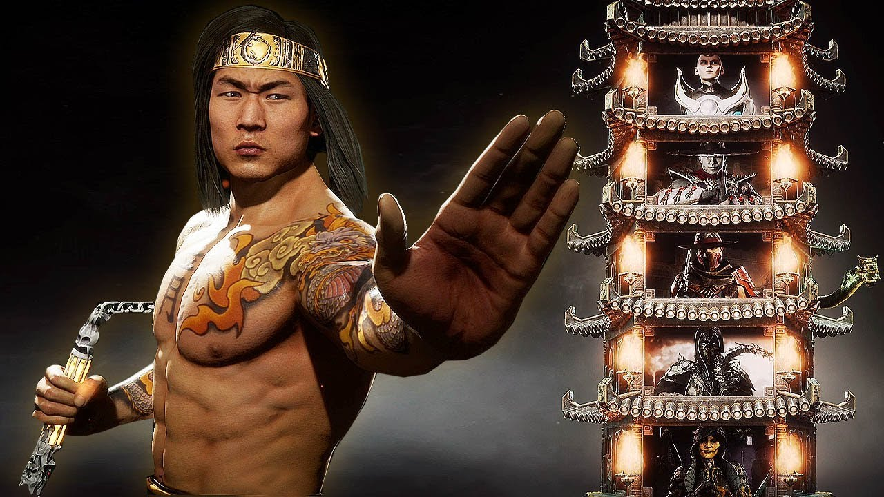 MORTAL KOMBAT 11 - LIU KANG Klassic Towers Gameplay (Hard Difficulty) @ 1080p (60ᶠᵖˢ) ✔