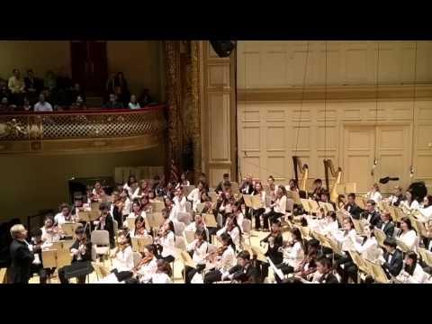 Massachusetts AllState orchestra 2016