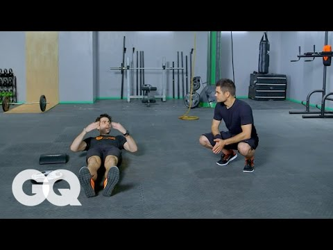 TABATA: Core Workout Routine with Trainer Will Lanier – GQ's Fighting Weight Series