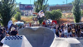 Big Tricks At Stunning Skatepark