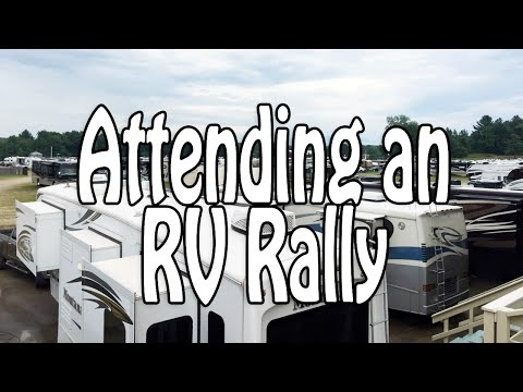 Attending an RV Rally: Overview & Tips for Surviving Large R