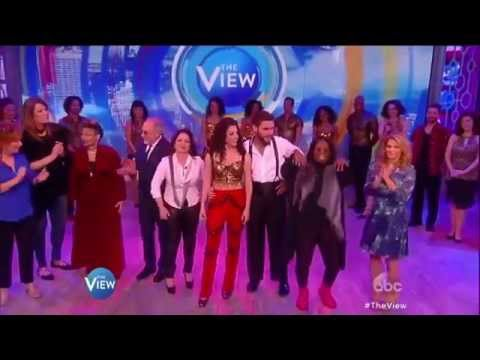 The ON YOUR FEET! Cast Performs on The View  ON YOUR FEET!