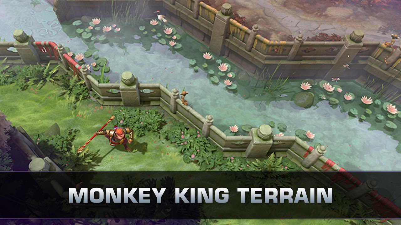 dota 2 monkey king terrain patch 7 00 youtube
