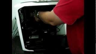 tutorial como instalar o cooler corsair h60