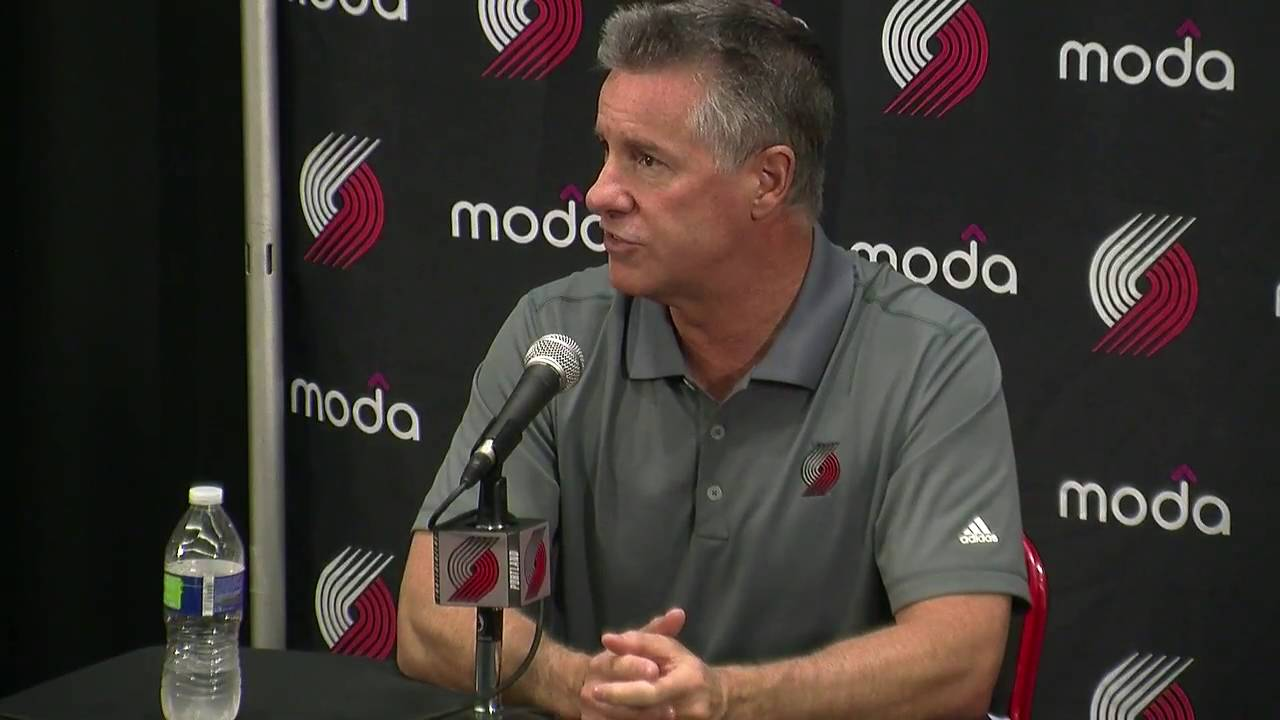 Neil Olshey discusses the possibillity of landing a big time free agent
