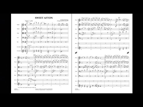 Sweet Afton arranged by John Leavitt