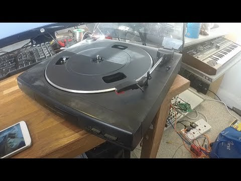 Fixing A Record Player (Sony PS-LX56P)