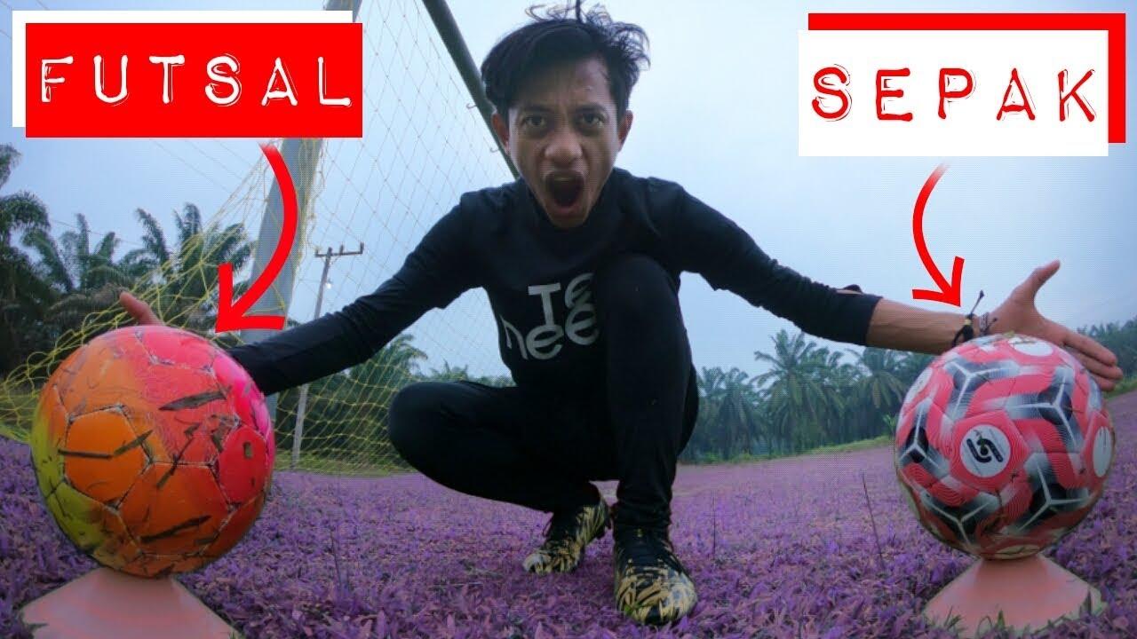 FUTSAL vs SEPAKBOLA!!????(Football Experiment)