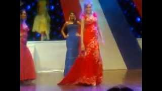 Monica Mariani Pascualoto- Miss Italia Paraguay 2011 (Evening Gown)