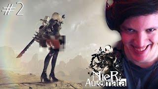 Video de ME ROBARON LA FALDA - NieR Automata (Parte 2)