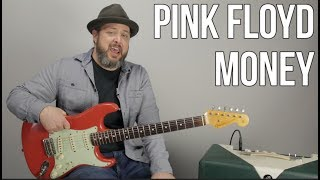 How to Play 'Money' by Pink Floyd - Guitar Lesson and Bass