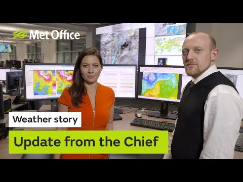 Weather Story - Chief Forecaster explains the disruptive weather over the next few days