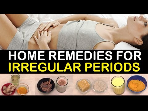 Home remedies for irregular periods | Menstruation Problems | Women's Health