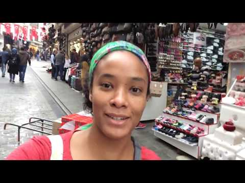 Exploring The Grand Bazaar & Taksim Square in Istanbul, Turkey 🇹🇷