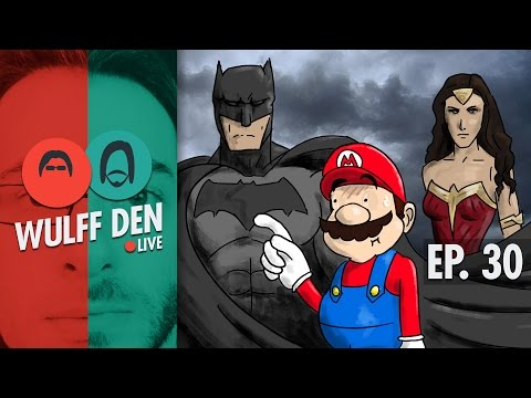 The DC Comics Trailers and even MORE NX Rumors - Wulff Den Live Ep 30
