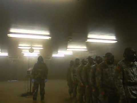 Basic Training, Inside the Gas Chamber