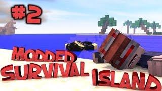 Survival Island Modded - Minecraft: Survivors Part 2