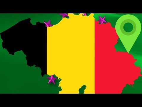 Belgium Has The Oddest, Most Recently Changed Borders In The World