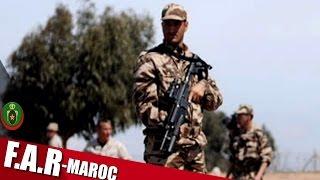 الجيش المغربي والجيش البريطاني في مناورات : جبل الصحراء 2016