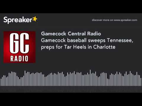 Gamecock baseball sweeps Tennessee, preps for Tar Heels in Charlotte