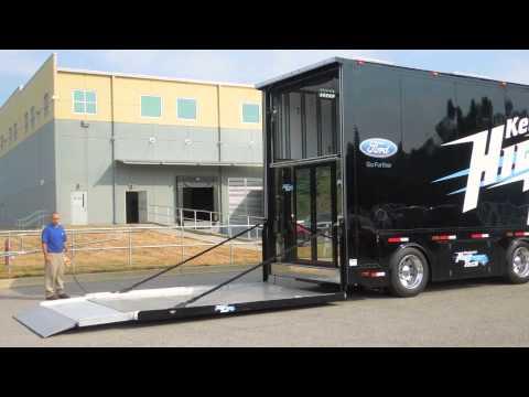 Kentucky High Tech Performance Trailers Lift Gate