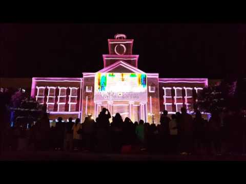 SUGAR LAND TOWN SQUARE - NEW YEAR'S EVE 3D LIGHT SHOW (2017)