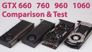 NVIDIA GeForce GTX 660 Vs 760 Vs 960 Vs 1060 Graphics Card Comparison GTA 5 Witcher