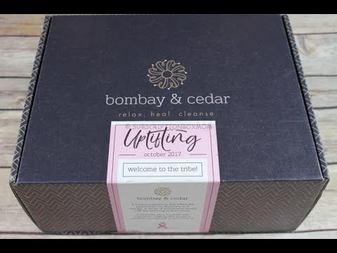 Bombay & Cedar October 2017 Unboxing + Coupon